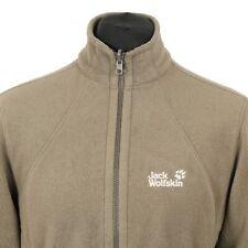 JACK WOLFSKIN Polartec Fleece Jacket | Coat Warm Hiking Trekking