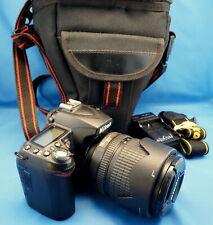 Nikon D90 12.3MP Digital SLR Camera w/ 18-105mm VR Lens + case