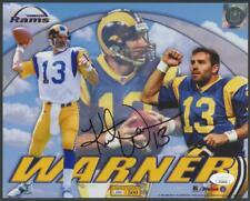 KURT WARNER signed 8x10 photo (RAMS - Autograph) | JSA certified - HOF