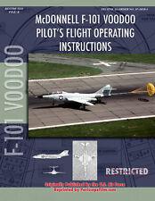 MCDONNELL F-101 VOODOO Pilot's Flight Manual BOOK