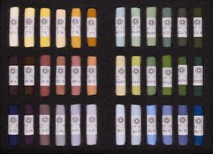 Unison Artist Quality Soft Pastels Landscape Set of 36 Colours