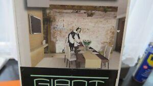 Banksy Maid In London FULL WALL MURAL Wallpaper Wall Mural full wall