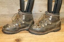 BROWNING VTG MENS BROWN MENS LEATHER HIKING TRAIL BOOTS SZ 7.5 M