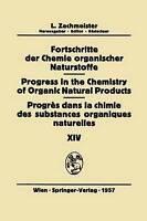 Fortschritte der Chemie Organischer Naturstoffe/Progress in the Chemistry of Org