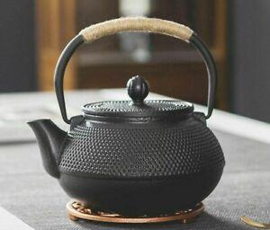 Japanese Iron Tea Pot with Stainless Steel Infuser Cast Iron Teapot Tea Kettle