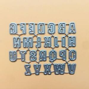 Alphabet Letter Metal Cutting Dies Stencil Scrapbooking DIY Album Stamp Paper