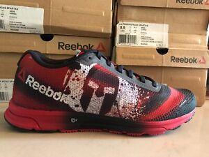 Reebok All Terrain Spartan Race model running shoes men size 8 Red Black