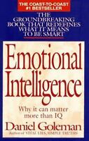 Emotional Intelligence by Daniel Goleman a Hardcover book FREE USA SHIPPING