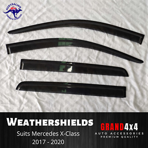 Weathershields Window Visors to suit Mercedes Benz X-Class XClass 2017 - 2020
