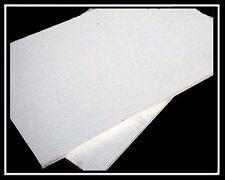 CERAMIC FIBRE BOARD - 90x60cm x10/25/30mm - Temp >1100°C - Sound/Heat Insulation