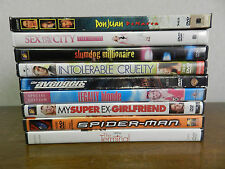Lot of 9 DVD's (Sex And The City The Movie, Legally Blonde, The Terminal & more)