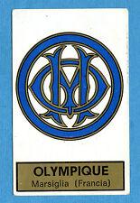 CALCIATORI PANINI 1971-72-Figurina-Sticker n. 102 - OLYMPIQUE SCUDETTO -Rec