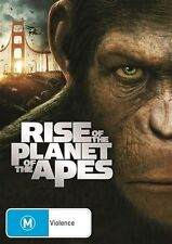Rise Of The Planet Of The Apes ( New R4DVD, 2011)
