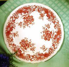 VALERIA rot - 1 Platte rund flach 31 cm