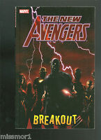 The New Avengers 1 Breakout Bendis Finch GN tpb