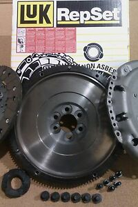 VOLKSWAGEN CADDY 1.9 TDI LUK DMF DUAL MASS FLYWHEEL AND LUK CLUTCH KIT ALL BOLTS
