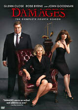 The Damages: The Complete Fourth Season (DVD, 2012) NEW