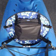 Tall Back Molded Foam Kayak Seat Hawaiian Print With Standard Zipper Pack  SOT