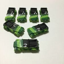VINTAGE 7 PIECE GROUPING AURORA AFX GREEN VW THING / #1931-001 / NEW OLD STOCK!!