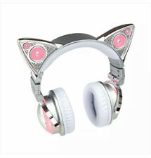 💕LIMITED EDITION Ariana Grande Cat Ear Headphone LED 8 Color Bluetooth Wireless