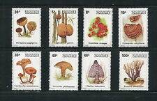 ZAIRE, SC 910-917, 1979 Mushrooms and Fungi issue. Full set of 8. MNH. CV $10