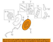 FORD OEM Rear Brake-Rotor DG1Z2C026A