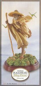 "THOMAS BLACKSHEAR'S EBONY VISIONS -- ""THE WISE WANDERER"" --GALLERY PROOF 17"