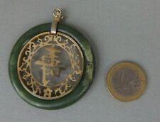 pendentif chinois ancien pierre dure jade jadeite antique chinese pendant