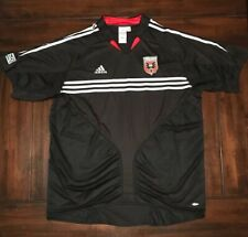 MLS Soccer DC United Adidas Soccer Jersey Shirt Adult Men's XL