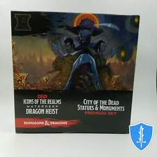 City of the Dead Statues and Monuments - Waterdeep Dragon Heist D&D Dungeons NIB
