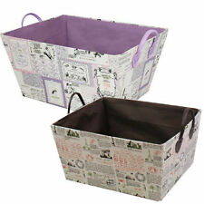 Non-Lidded JVL Home Storage Boxes