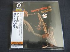 SONNY ROLLINS, On Impulse, JAPAN CD Mini LP, UCCI-9024, 24 bit remaster, BEST50