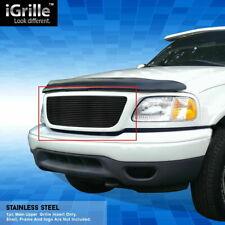 Für Ford F150 Billet Kühlergrill schwarz Frontgrill 99 - 03 Grill 1999 2003