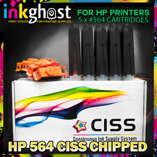 CISS compatible with HP 564 C309 C310 C410 C510 7510 7520 ink system