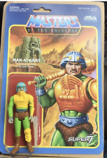 HE MAN MASTERS OF UNIVERSE REACTION FIGURE (MAN AT ARMS GLOW IN THE DARK)