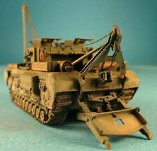 Milicast UK086 1/76 Resin WWII British Churchill Armored Recovery Vehicle Mk.II