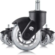 Lphy Chair Caster Wheels 3 Smooth Rolling Heavy Duty Casters For All Floors