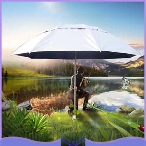 Outdoor Patio Tilting Garden Beach Fishing Umbrella Parasol Sun Shade UV Block