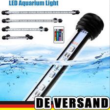 LED RGB Aquariumlampe Unterwasser Beleuchtung Wasserdicht IP68 Mondlicht Leuchte