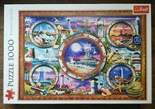 TREFL - 1000 piece Jigsaw Puzzle - Lighthouses - Premium Quality