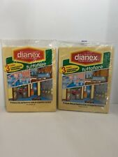 Lot Of 2 - 3 Packs Dianex Cloths - 6 Total