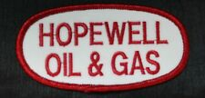 "4"" x 2"" Iron On Patch for Hopewell Oil & Gas"