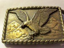 Vintage 1970's American Bald Eagle Belt Buckle