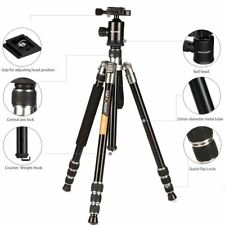 KF-TM2534 Pro DSLR SLR Camera Tripod Monopod with Ball Head for Canon Nikon 65""