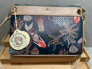 Spartina 449 Crossbody Mystic Mermaid RETIRED New With Tags