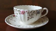 Spode China Wicker Dale Cup & Saucer England