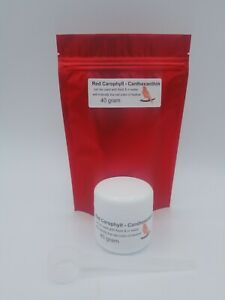 40 gr. Carophyll - Canthaxanthin Red #1 product to color feed CANARIES