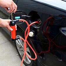 Portable Manual Car Siphon Pump Fuel Gas Transfer Oil Liquid Hand Air Pumps WYS