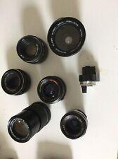 vintage camera lenses