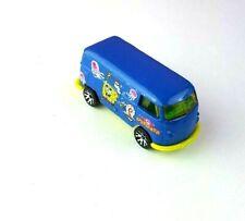 Matchbox Spongebob Squarepants VM Delivery Diecast Van 1999 Loose Blue Yellow
